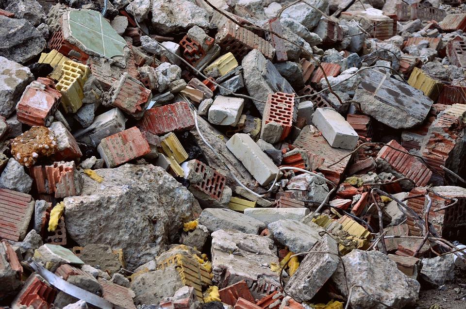 Residuos de construcción y demolición (RCDs)