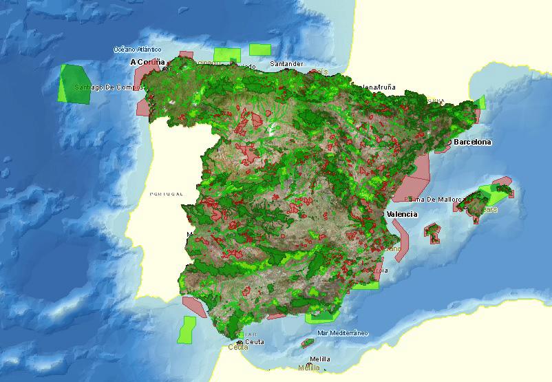 Zonas de Especial Conservación ZEC Red Natura 2000 - PERSEA Soluciones Ambientales S.L.